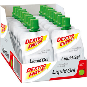 Dextro Energy Liquid Gel Alimentazione sportiva Apple 18 x 60ml